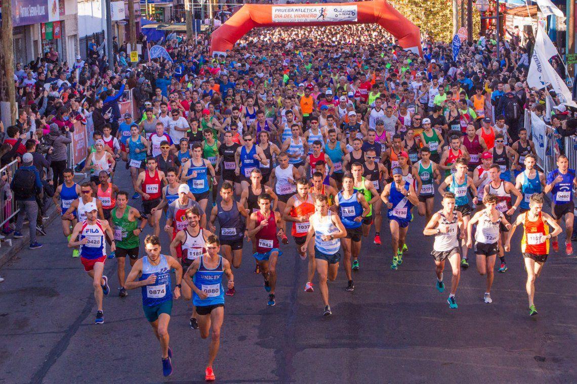 Berazategui: casi 5 mil corredores en la prueba atlética Día del Vidriero