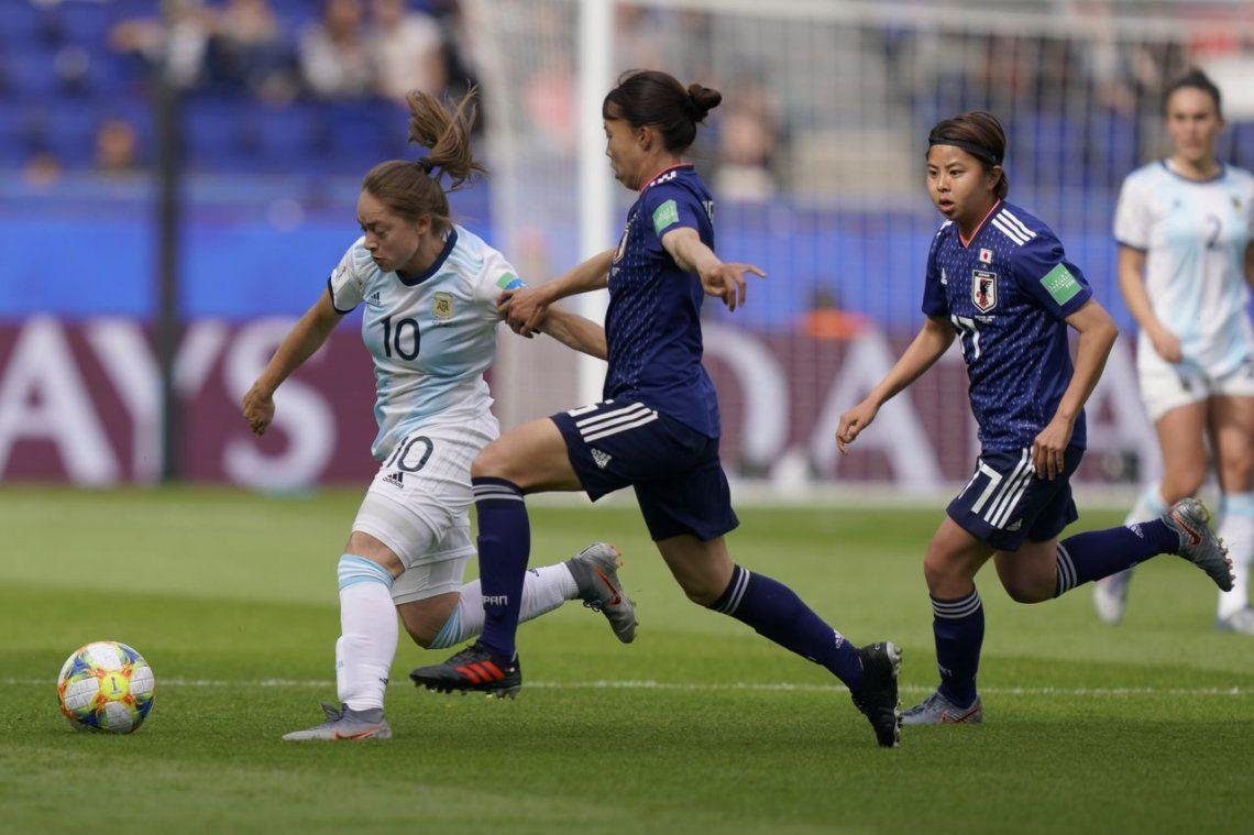 Histórico empate de la Selección Argentina contra Japón en el Mundial Femenino