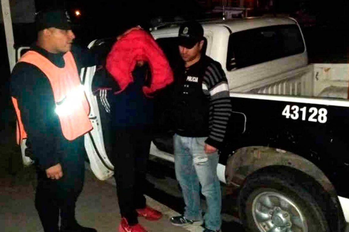 Bahía Blanca: encendió una fogata y arrojó a su mujer a la misma