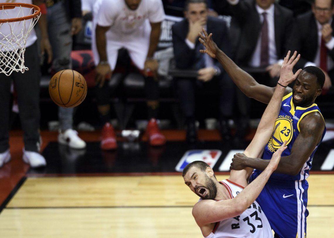 Todo el drama del juego 5 de las Finales de la NBA, en fotos