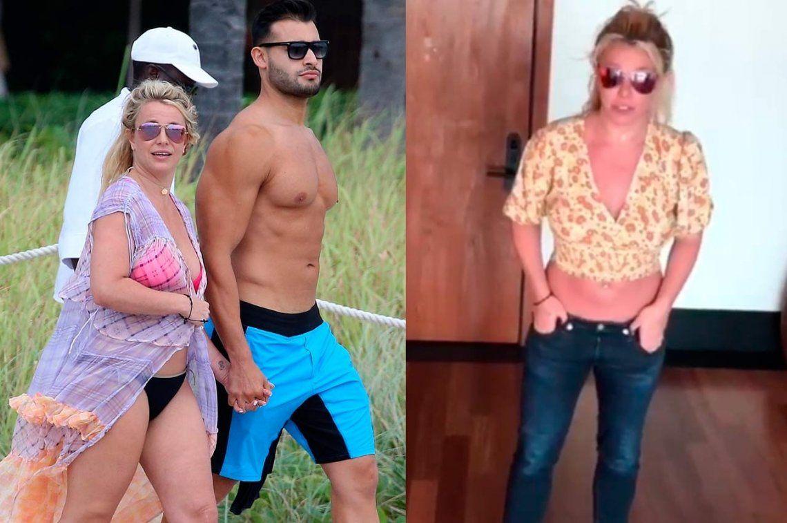 Britney Spears estalló de furia por fotos suyas trucadas que la hacen ver con algunos kilos de más