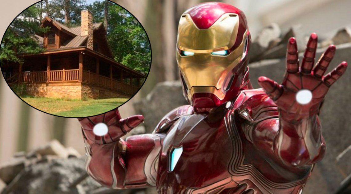 Turismo geek: alquilar la cabaña en la que vivió Iron Man cuesta 800 dólares