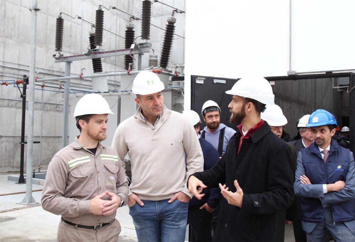 Quilmes: inauguraron una subestación eléctrica de la línea Roca