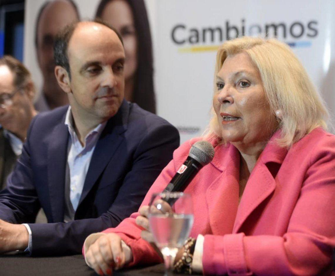 Elisa Carrió bromeó sobre la fórmula Macri-Pichetto: El mayor oportunista de la Argentina es candidato a vicepresidente de la Nación