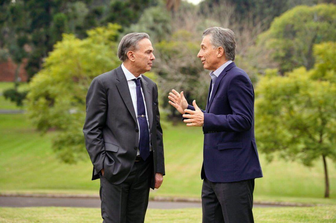 Pichetto en Olivos junto a Macri: Es una reunión muy importante