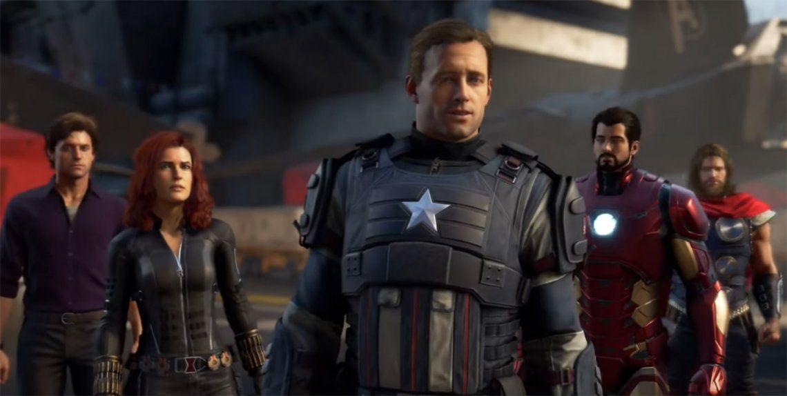El videojuego de Marvels Avengers, entusiasmo y críticas por partes iguales