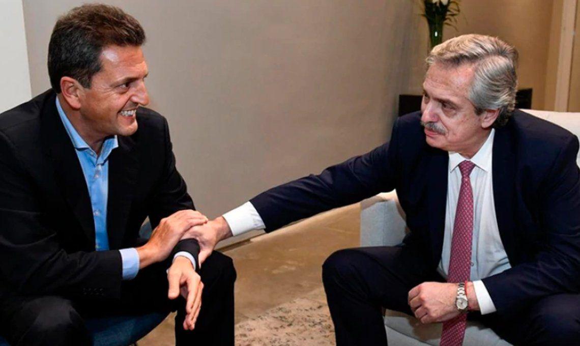 Sergio Massa y Alberto Fernández crearon el Frente de Todos