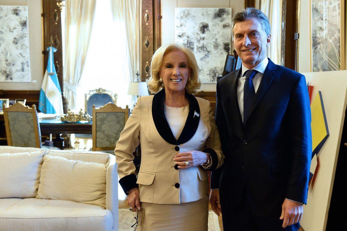 Mirtha Legrand se mostró disconforme con la fórmula Macri-Pichetto: Ahora no sé cómo le va a ir