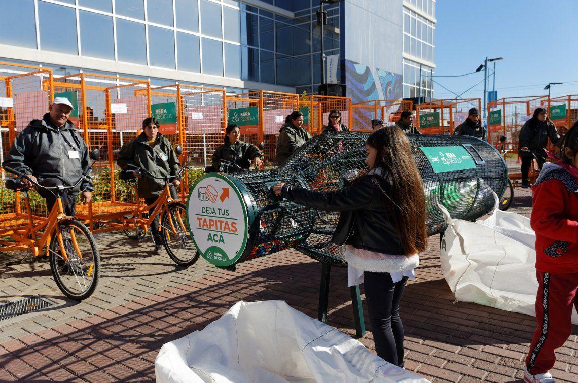 Las 42 nuevas bicicletas se suman a las 32 ya entregadas anteriormente.