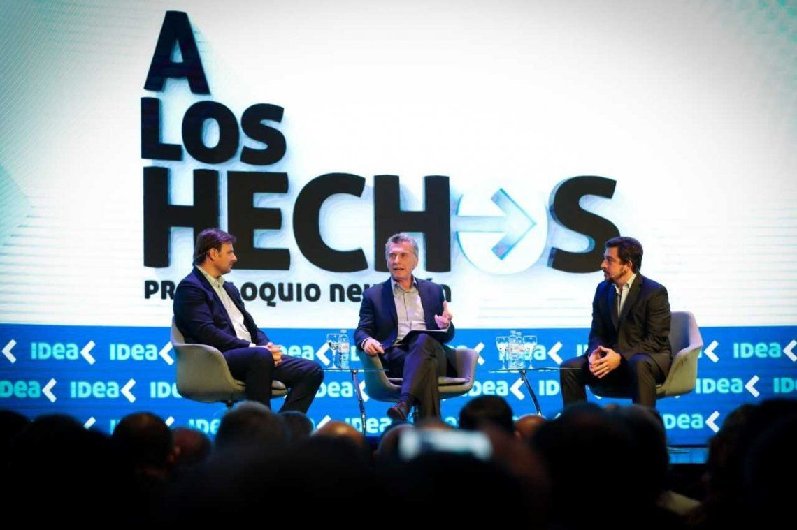 Mauricio Macri sobre Pichetto Me acompaña un patriota que quiere lo mejor para los argentinos