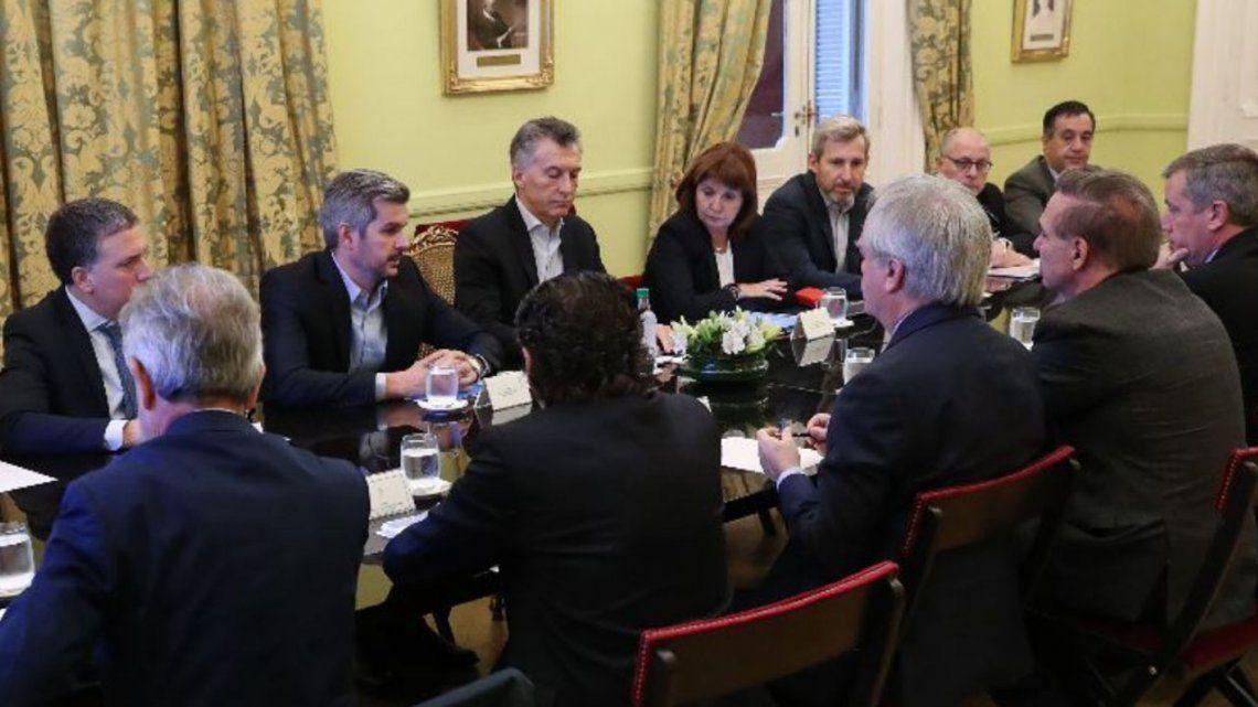 Macri sumó a Pichetto a la reunión de Gabinete