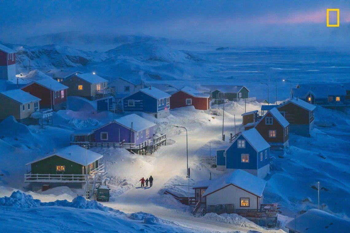 Primer premio:El Invierno de Groenlandia de Chu Weimin