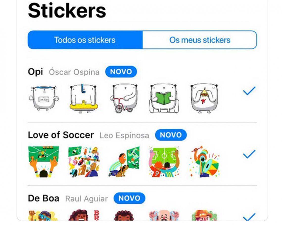 WhatsApp: cómo descargar los nuevos stickers del oso Opi