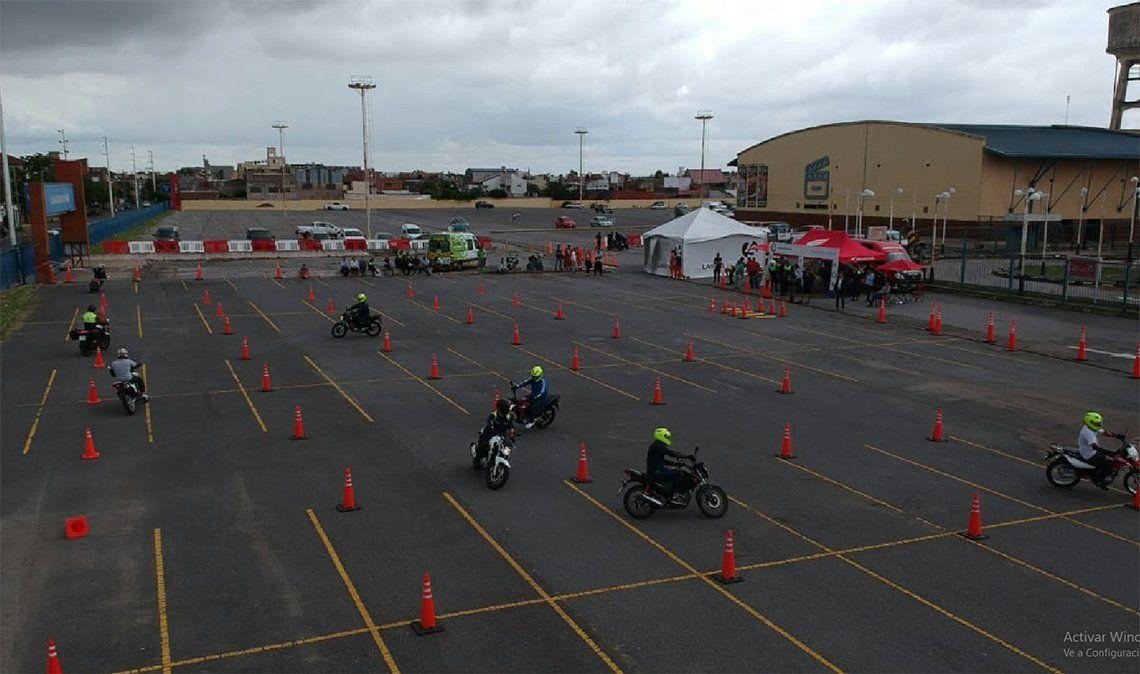 Lanús: buscan evitar accidentes y muertes en motos