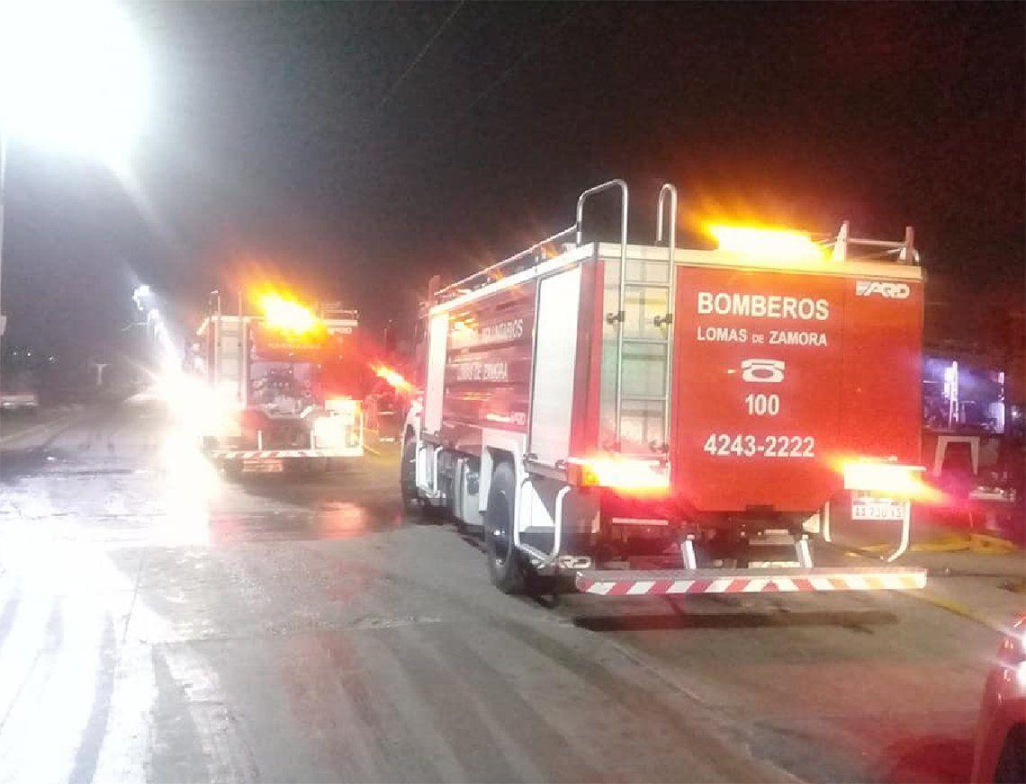 Lomas de Zamora: otro incendio en depósito de vehículos en Villa Fiorito