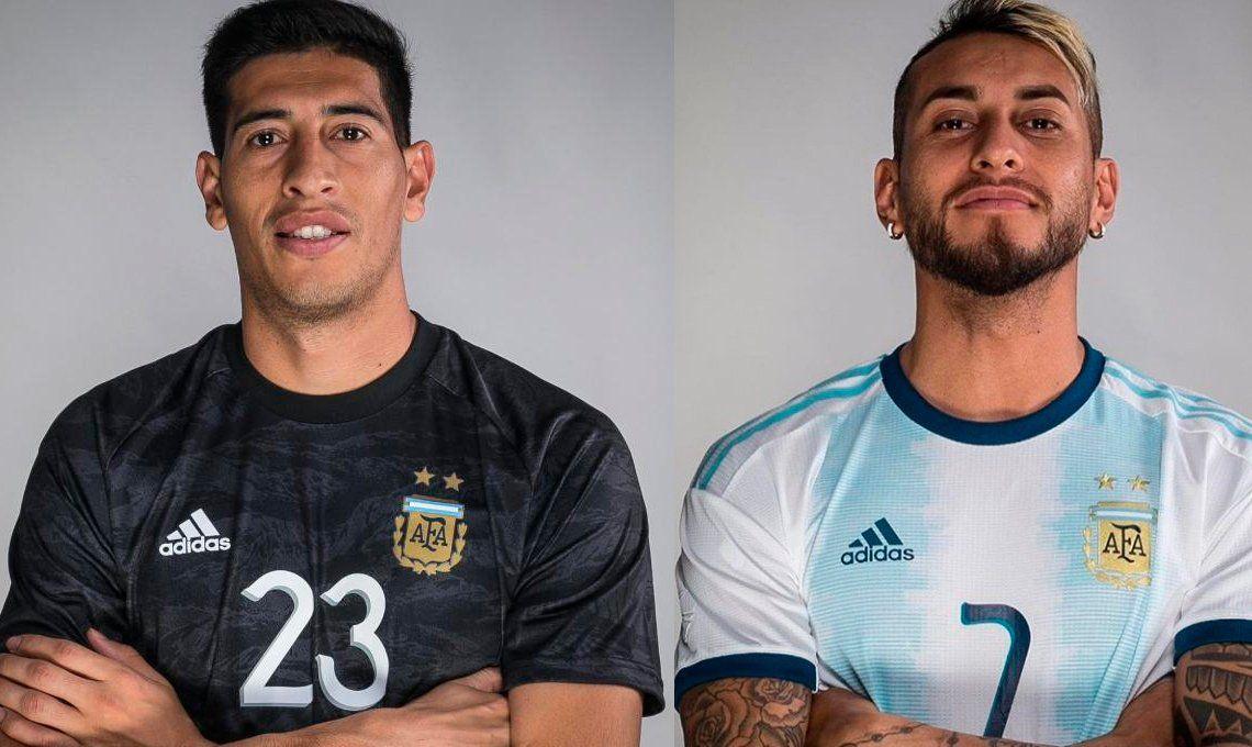 ¿Se bajan? Andrada y Pereyra se lesionaron en el entrenamiento de la Selección Argentina