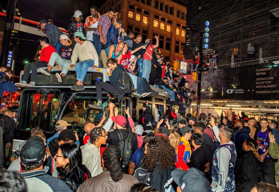 Las mejores fotos de los Toronto Raptors, flamantes campeones de la NBA