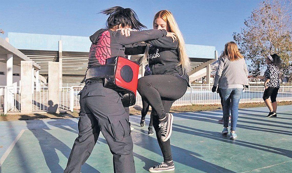Quilmes: defensa personal para mujeres para prevenir hechos de violencia de género