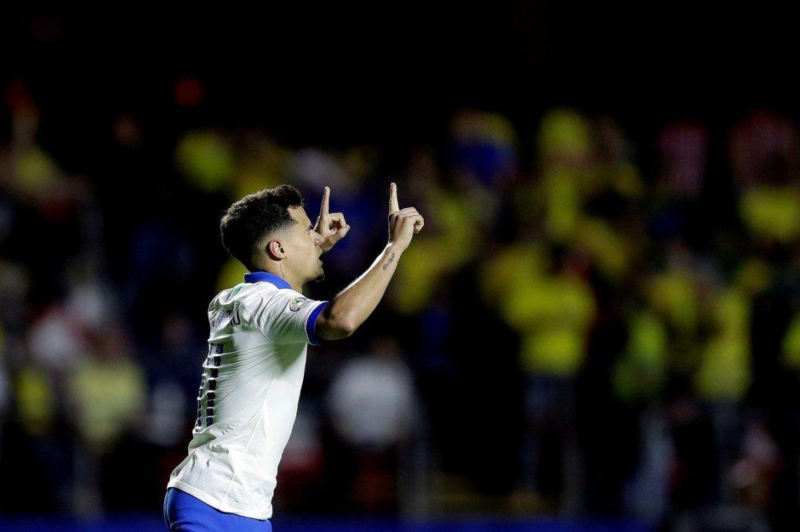 Copa América: Con goles de Coutinho y Everton, Brasil cumplió en su debut ante Bolivia