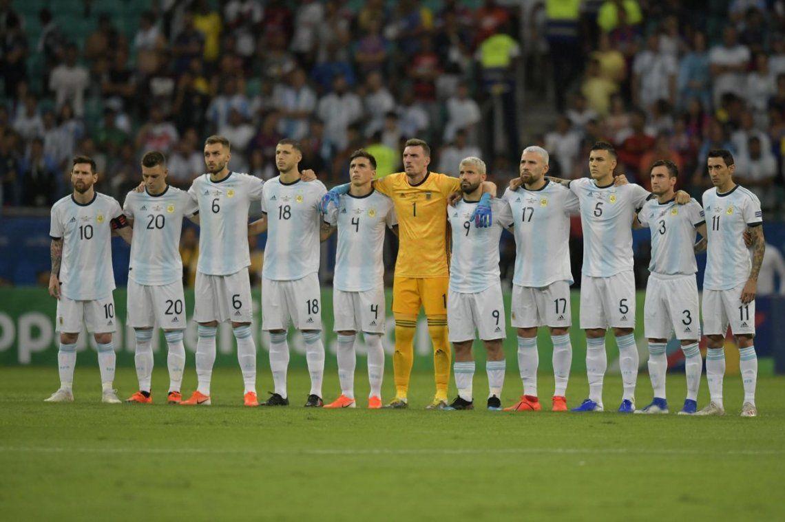 El uno x uno del papelón de Argentina frente a Colombia en la Copa América