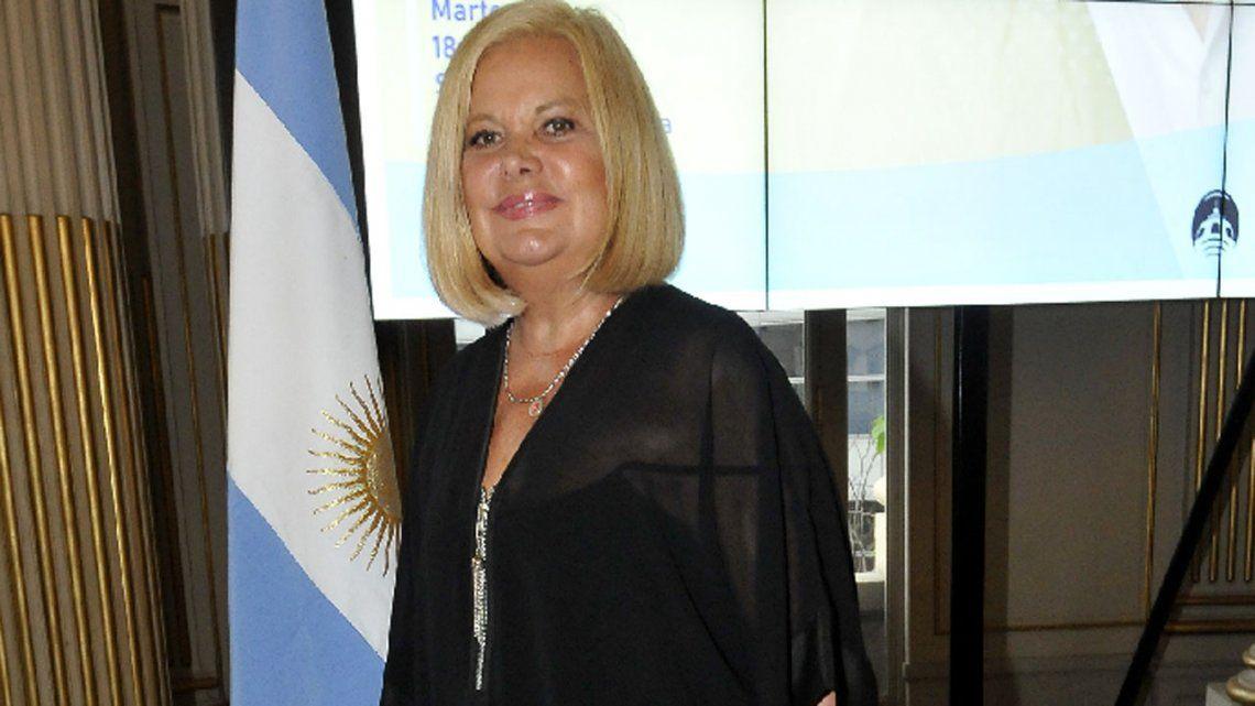La actriz Marta González se recupera del ACV