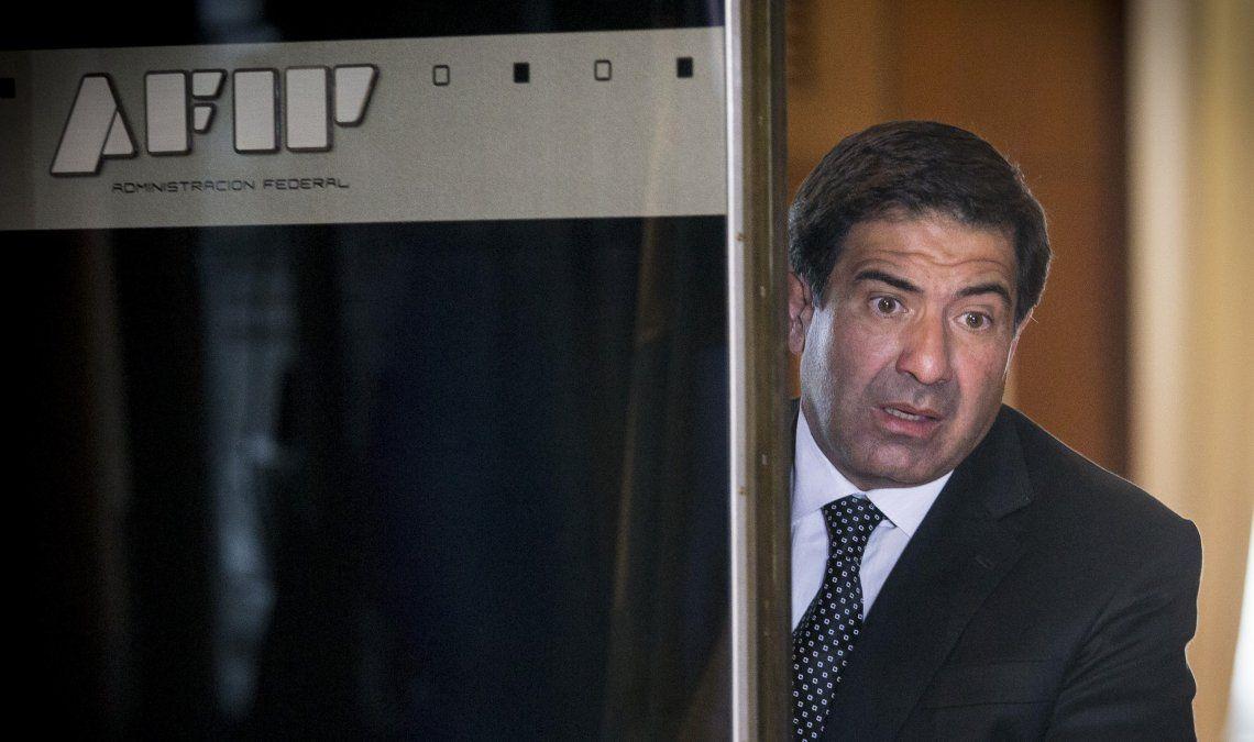 El empleado dijo que Echegaray por teléfono le pidió las imágenes y por eso las llevó a la sede de AFIP.