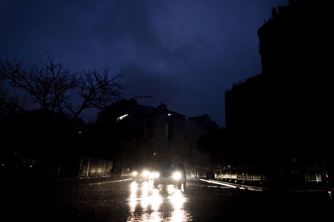 El apagón provocó pérdidas por mil millones de pesos