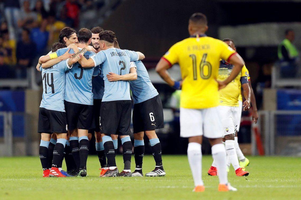 Copa América | Uruguay y un debut arrollador: 4 a 0 a Ecuador