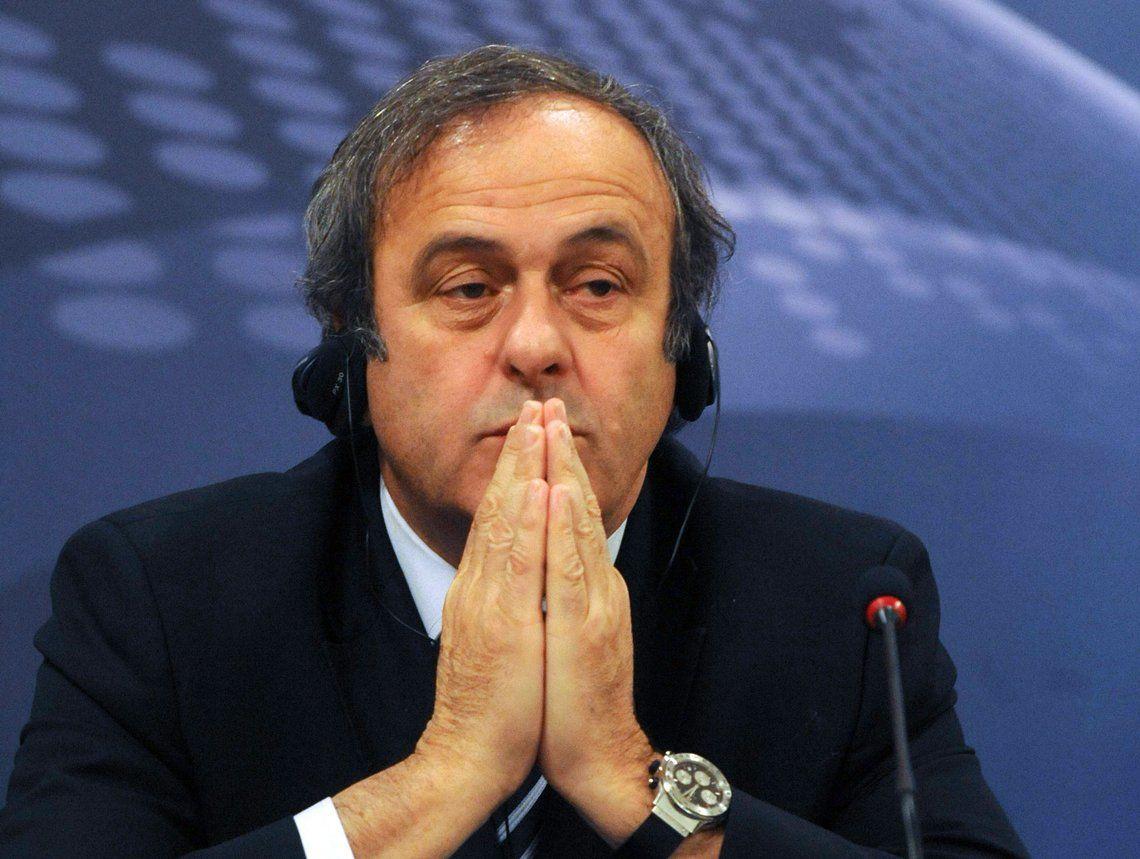 Michel Platini fue liberado tras estar más de 15 horas detenido