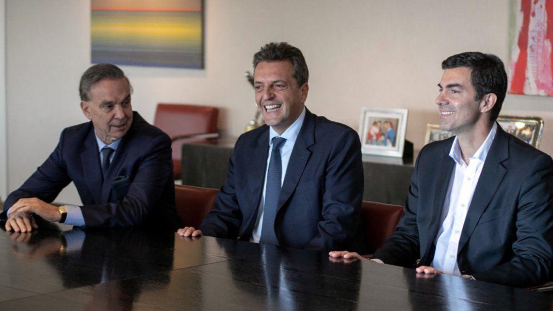 Tras la ruptura de Alternativa Federal, Massa, Urtubey y Pichetto volvieron a encontrarse