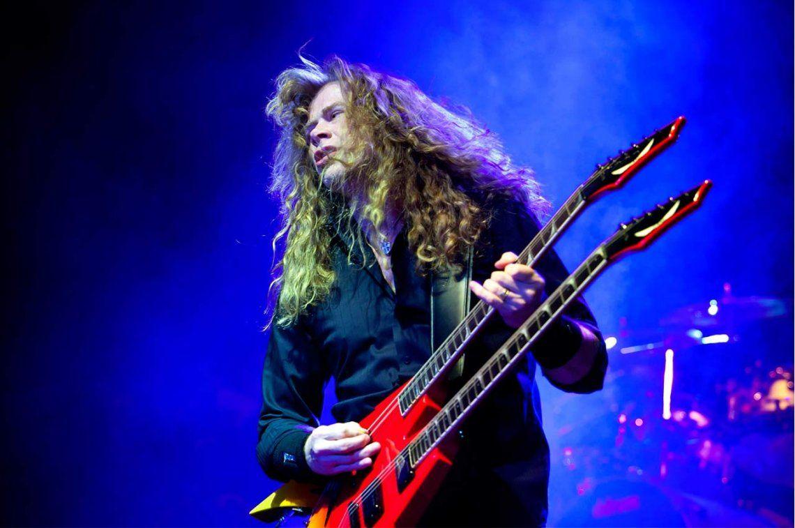 Dave Mustaine, el líder de Megadeth, tiene cáncer de garganta