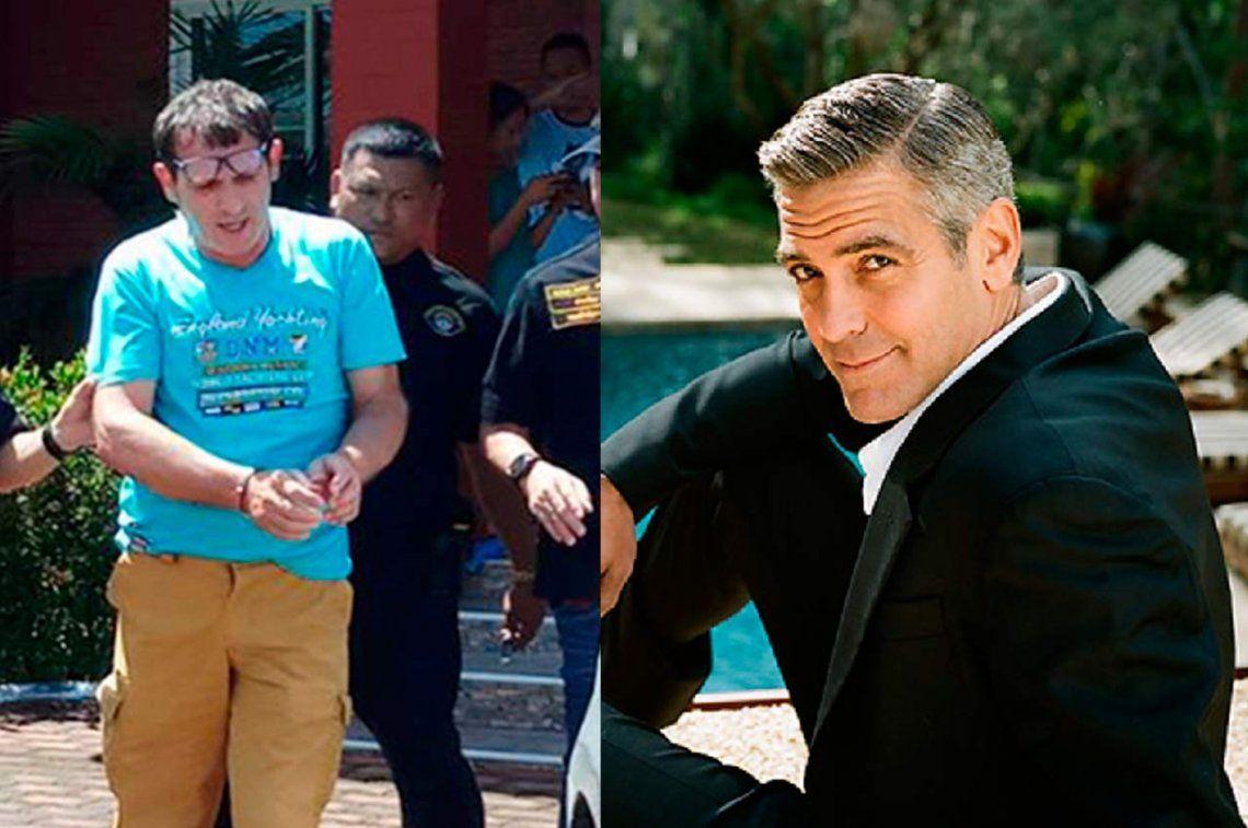 Tailandia: detuvieron a un italiano que estafaba haciéndose pasar por George Clooney