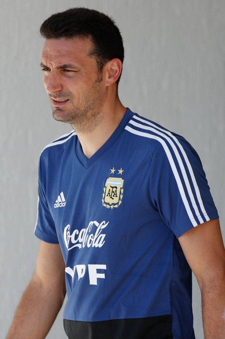 La Selección Argentina se entrenó pensando en Paraguay