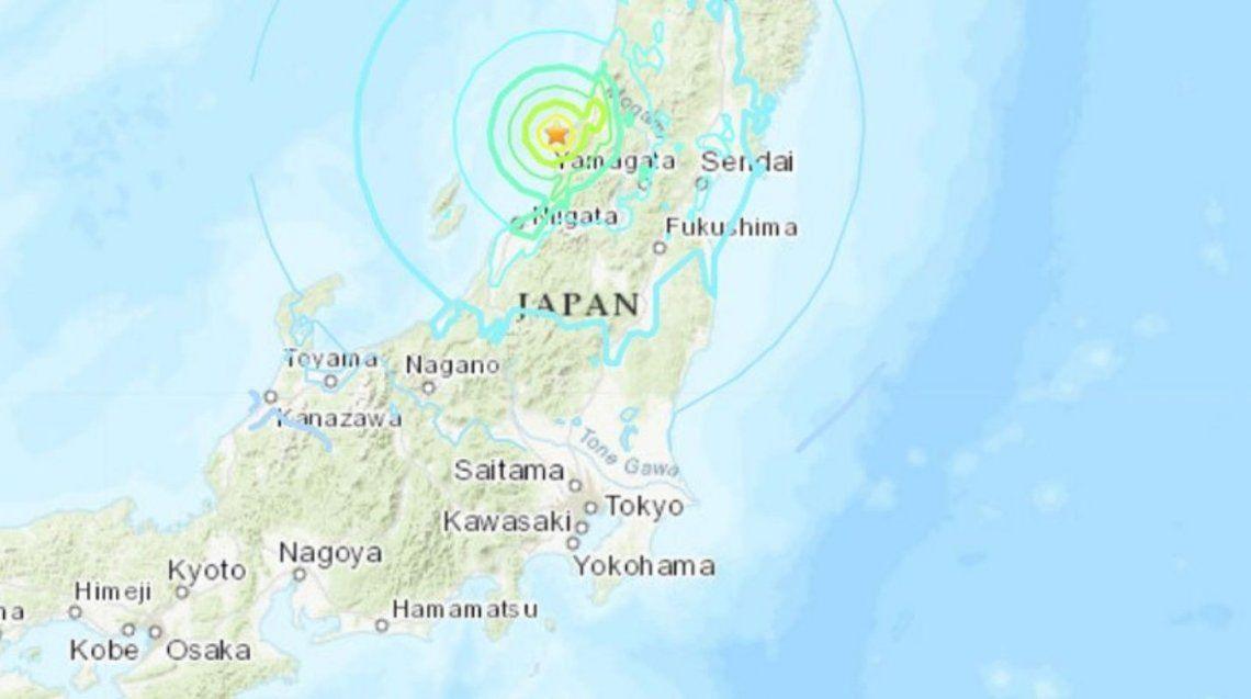 Alerta de tsunami en el norte de Japón tras un terremoto de magnitud 6,8