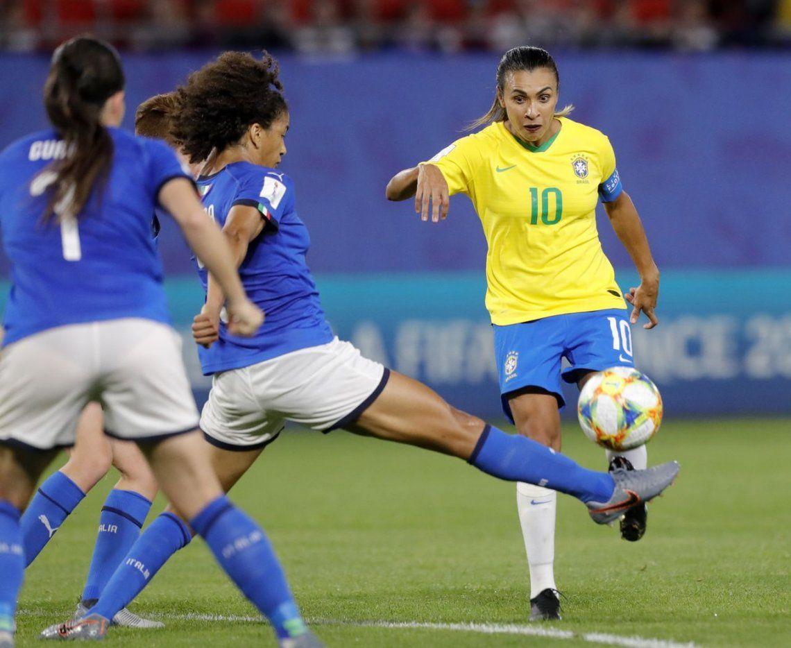 Marta, la número uno, es la máxima goleadora en mundiales