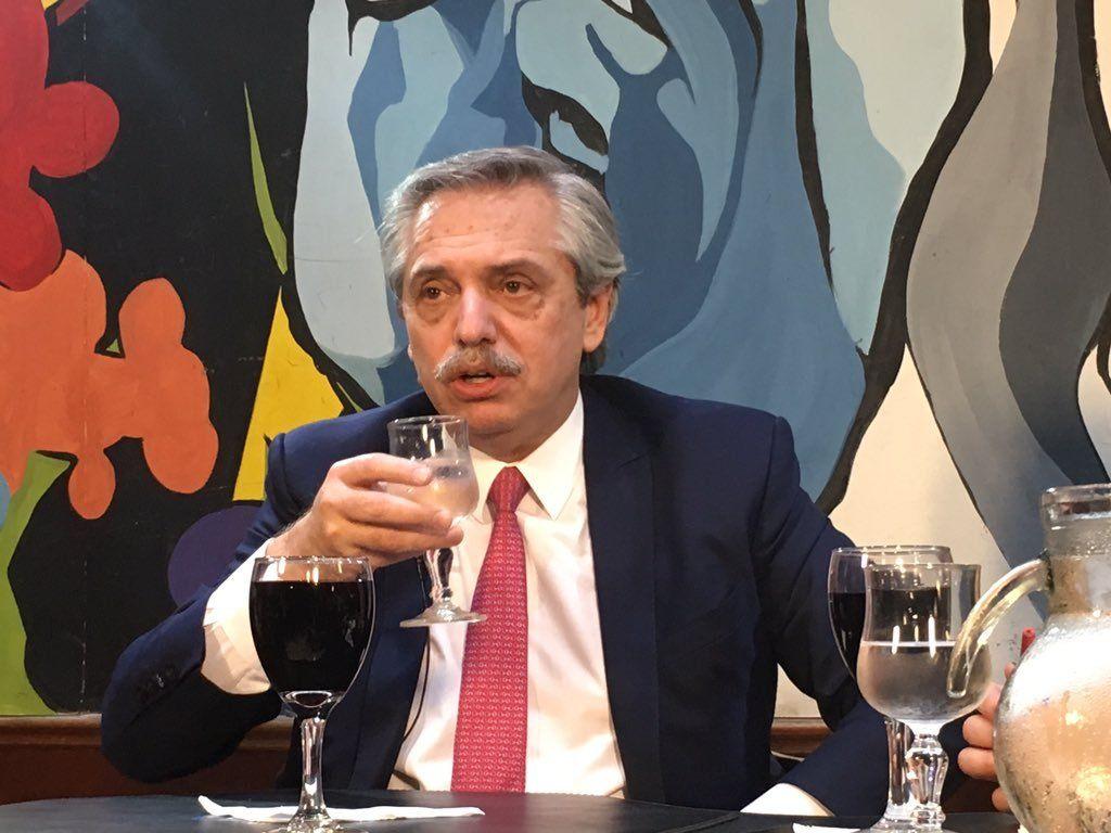 Alberto Fernández: Estoy inaugurando la rama del liberalismo progresista peronista