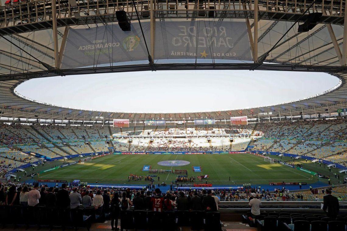 Copa América: estadios vacíos por el dólar, los precios y la espalda a lo popular