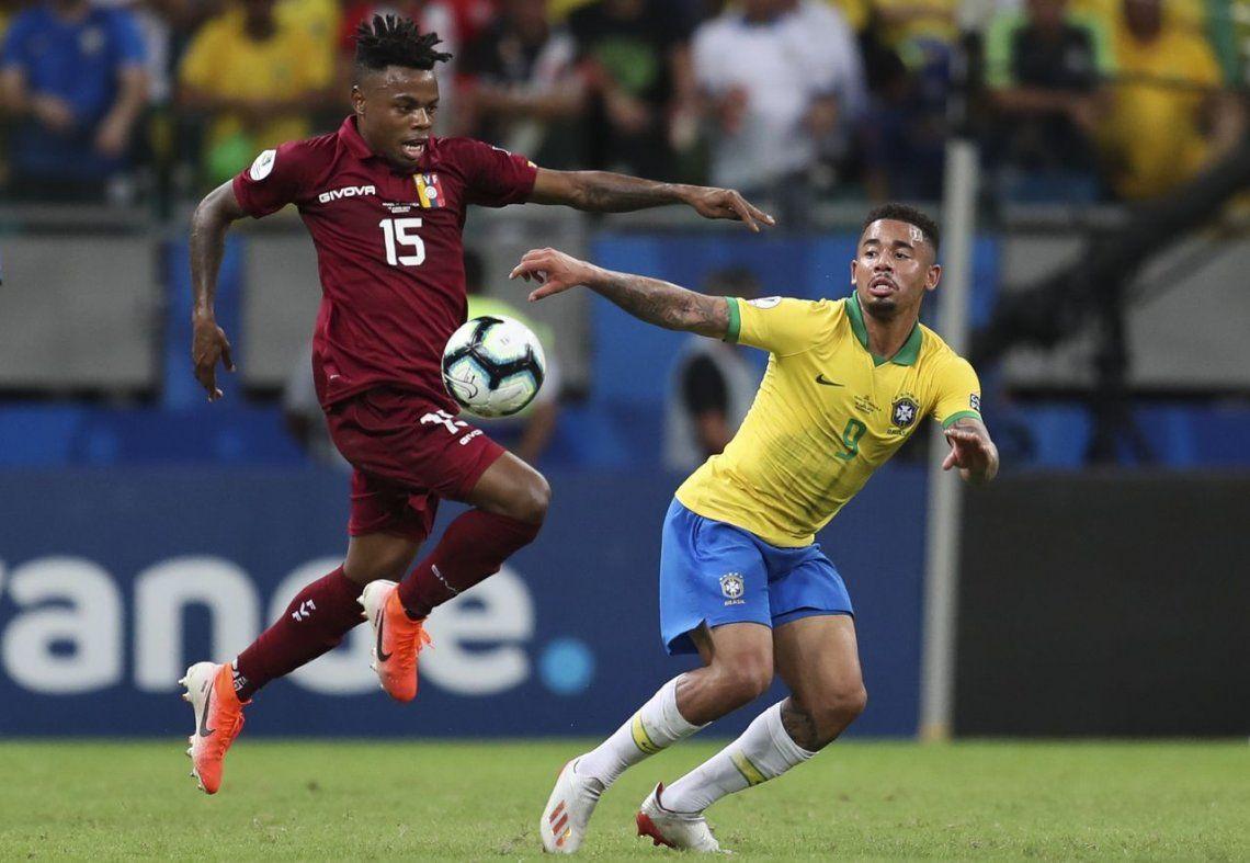 ¿Qué cobraron? El VAR protagonizó el empate entre Brasil y Venezuela en el partido con más polémicas de la Copa América