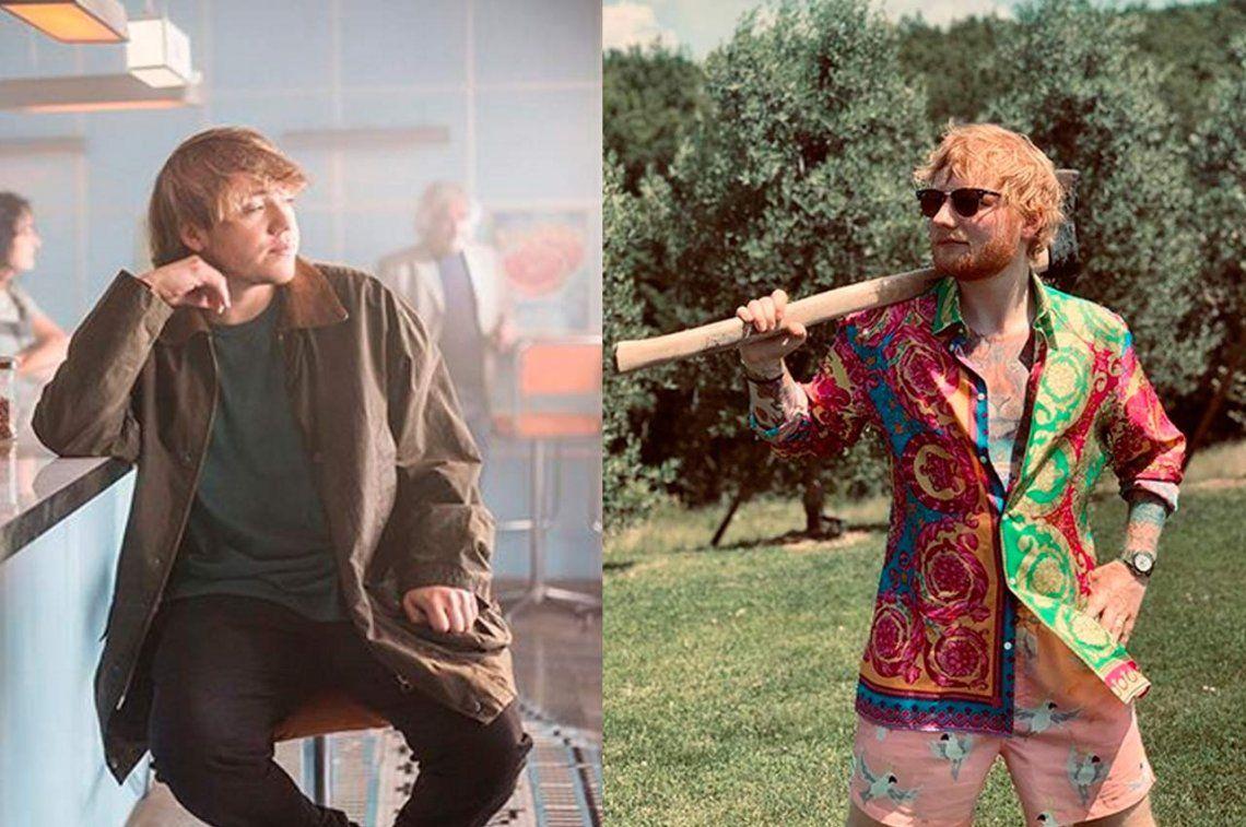 Ed Sheeran sorprendió y hará una canción con Paulo Londra
