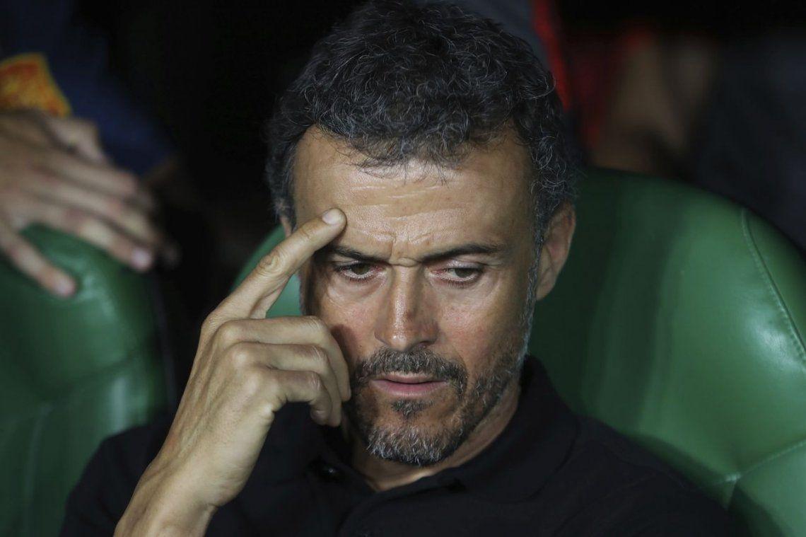 Renunció Luis Enrique como técnico de España y ya tiene reemplazo