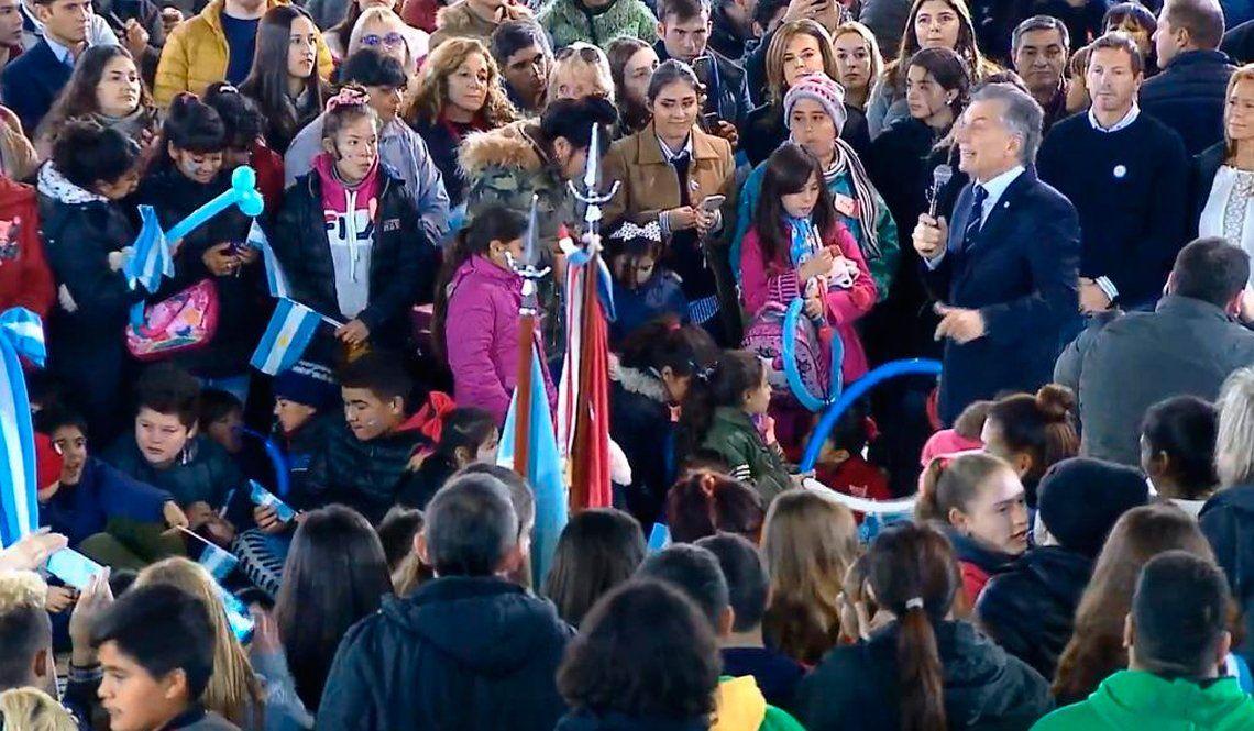 Macri llamó a los Moyano la patota del transporte que provoca que la Argentina tenga el costo más alto de la región