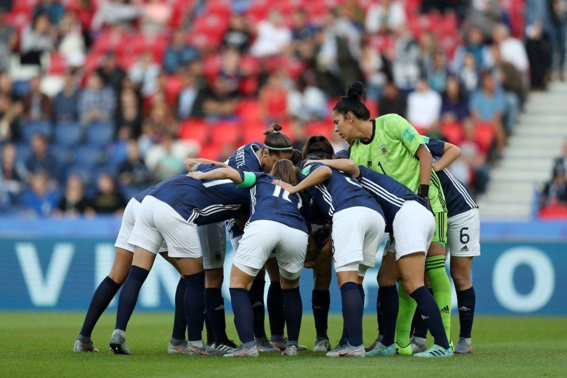 Argentina quedó eliminada del Mundial de Fútbol femenino en su mejor actuación histórica