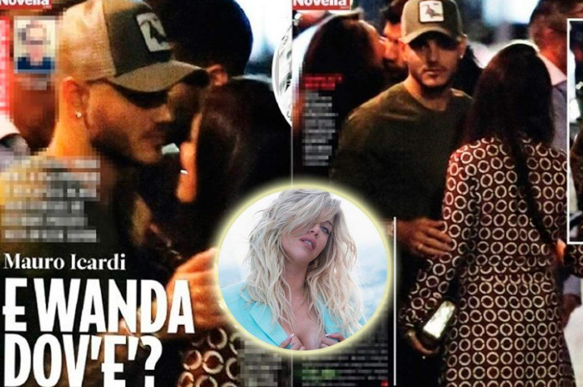 Fotografiaron a Mauro Icardi con una morocha: ¿le fue infiel a Wanda Nara?