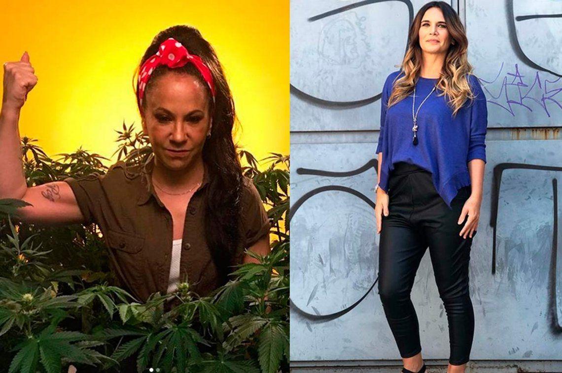 Amalia Granata, ahora versus Pampita y Miss Bolivia