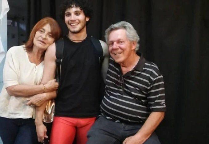 Lautaro Parada junto a Emilio Disi