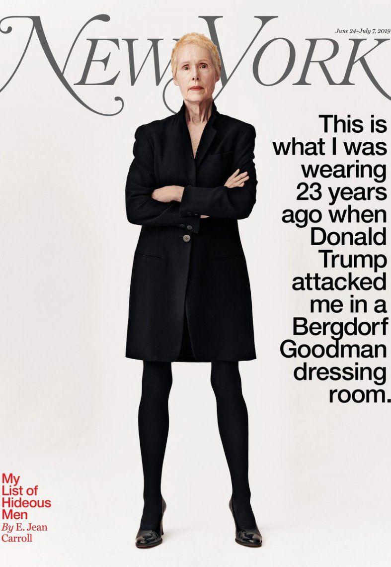 La tapa de la revista New York.