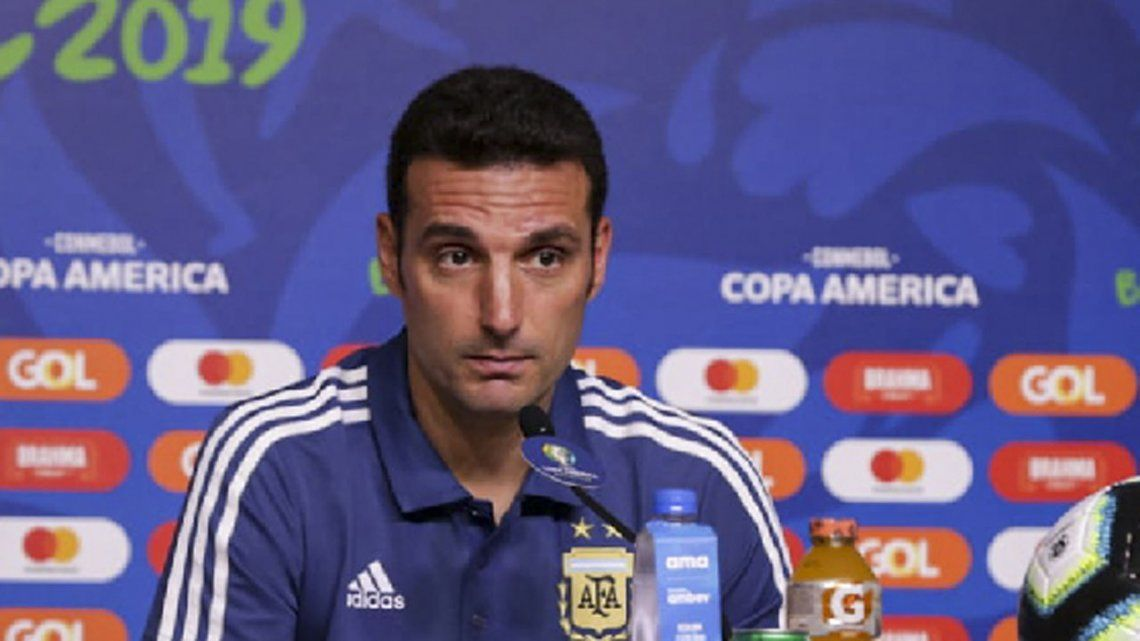 Copa América | Scaloni juega al misterio, pero muestra una carta: Agüero será titular