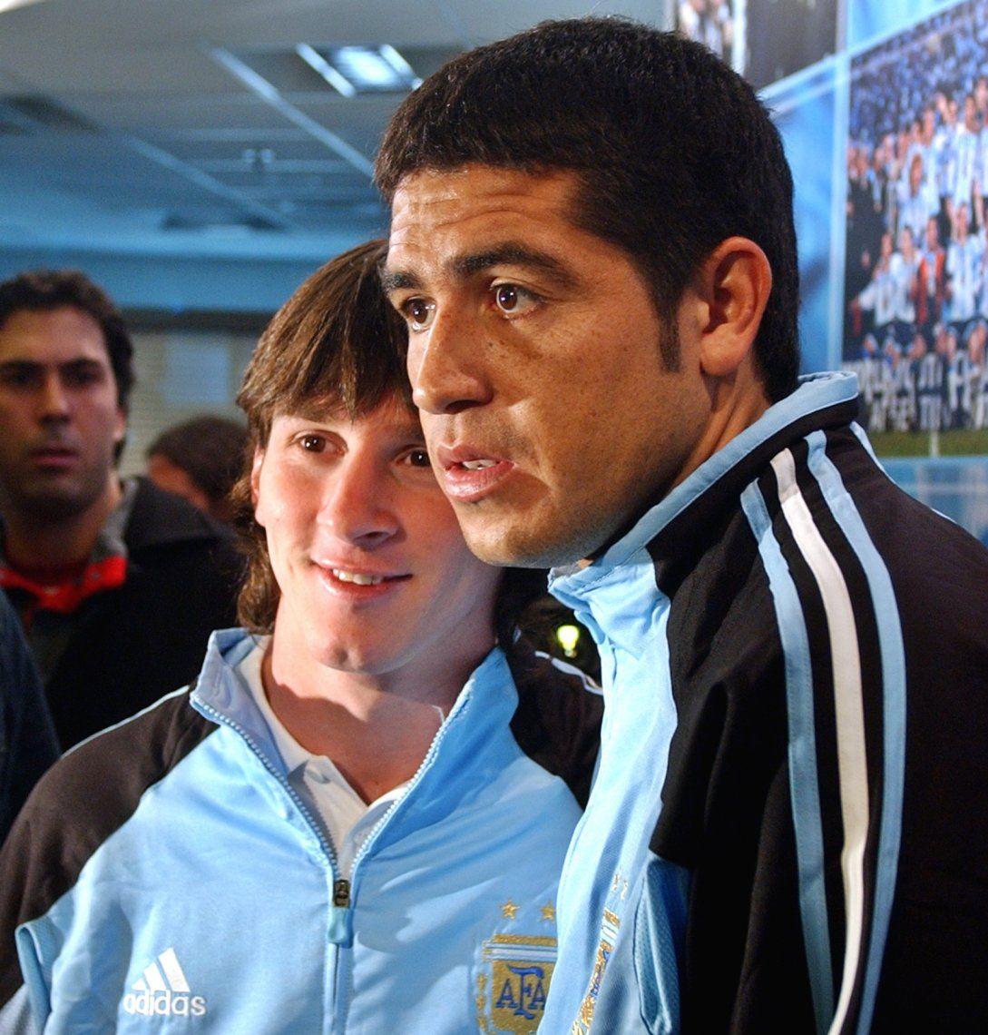 Fecha mágica: 24 fotos para festejar el cumpleaños de Messi y Riquelme