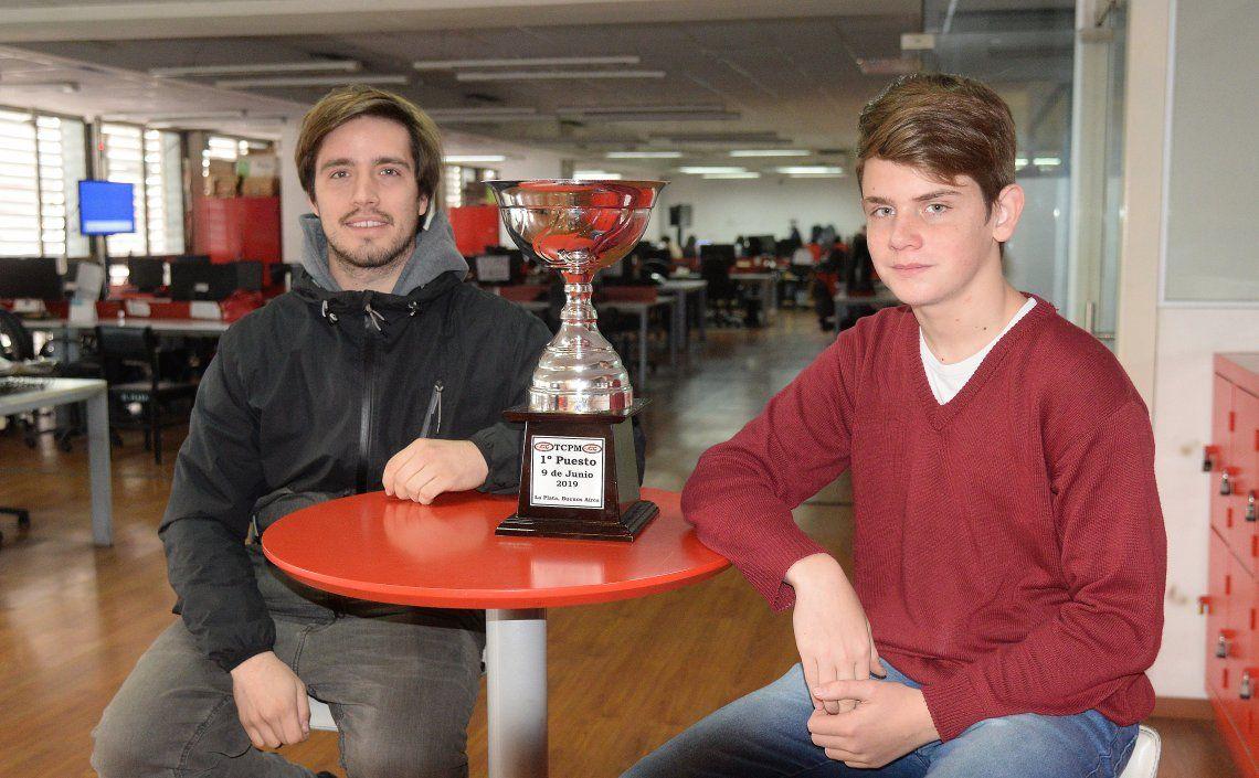 Panarotti y Fritzler repasaron las particularidades de su presente en sus respectivas competiciones.