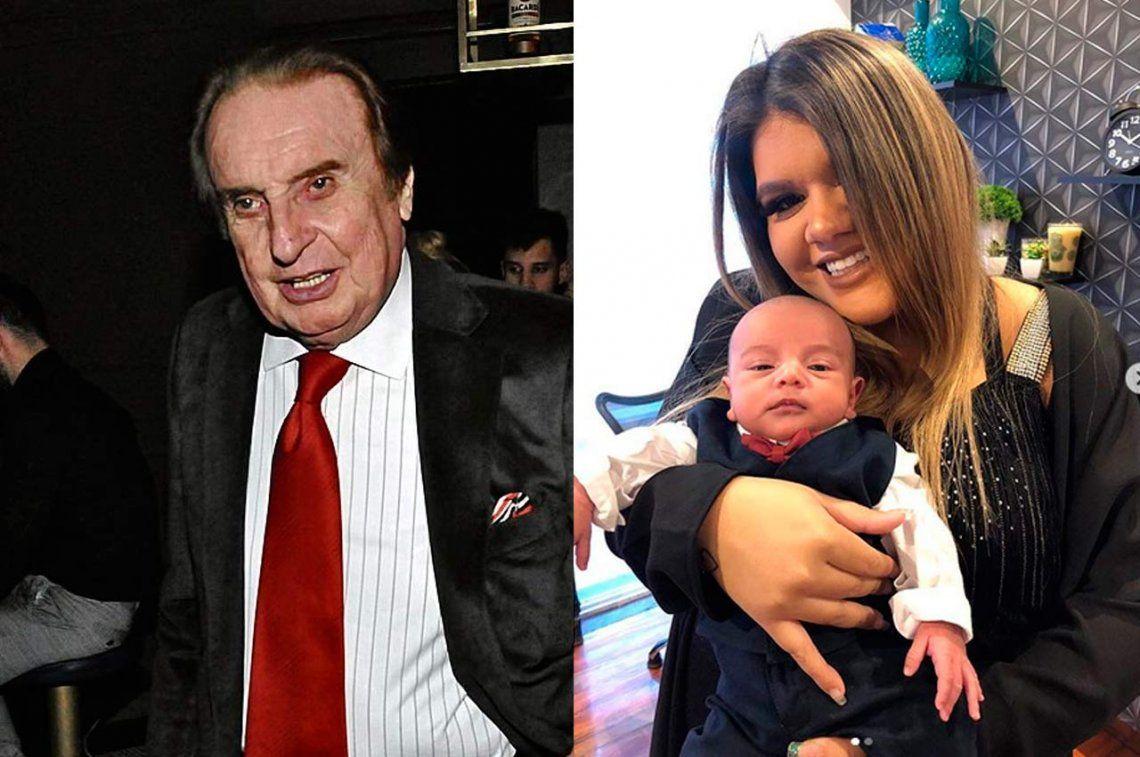 Preocupa la salud de Santiago Bal y dieron de alta al hijo de More Rial